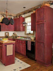 come-rimettere-a-nuovo-una-cucina-vintage-rosso